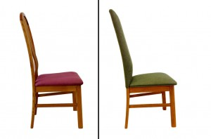 before - after dining chair
